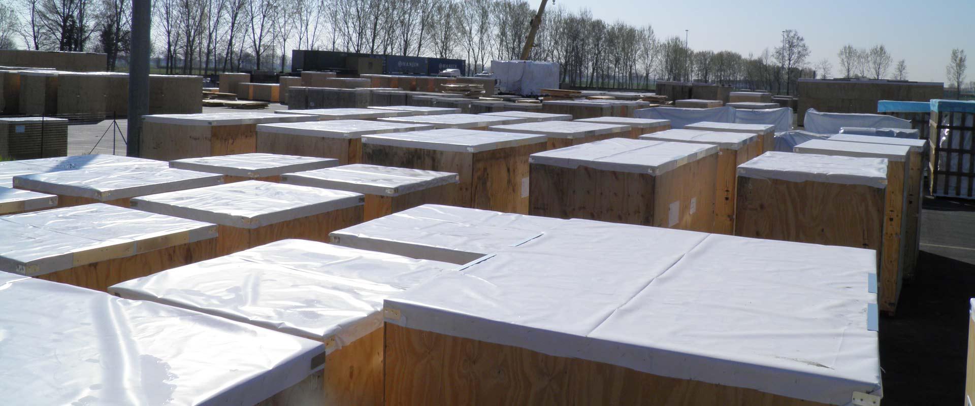 copertine da imballaggio per trasloco e trasporto Copertine per trasloco 150 cm di larghezza 10 metri di copertura per mobili